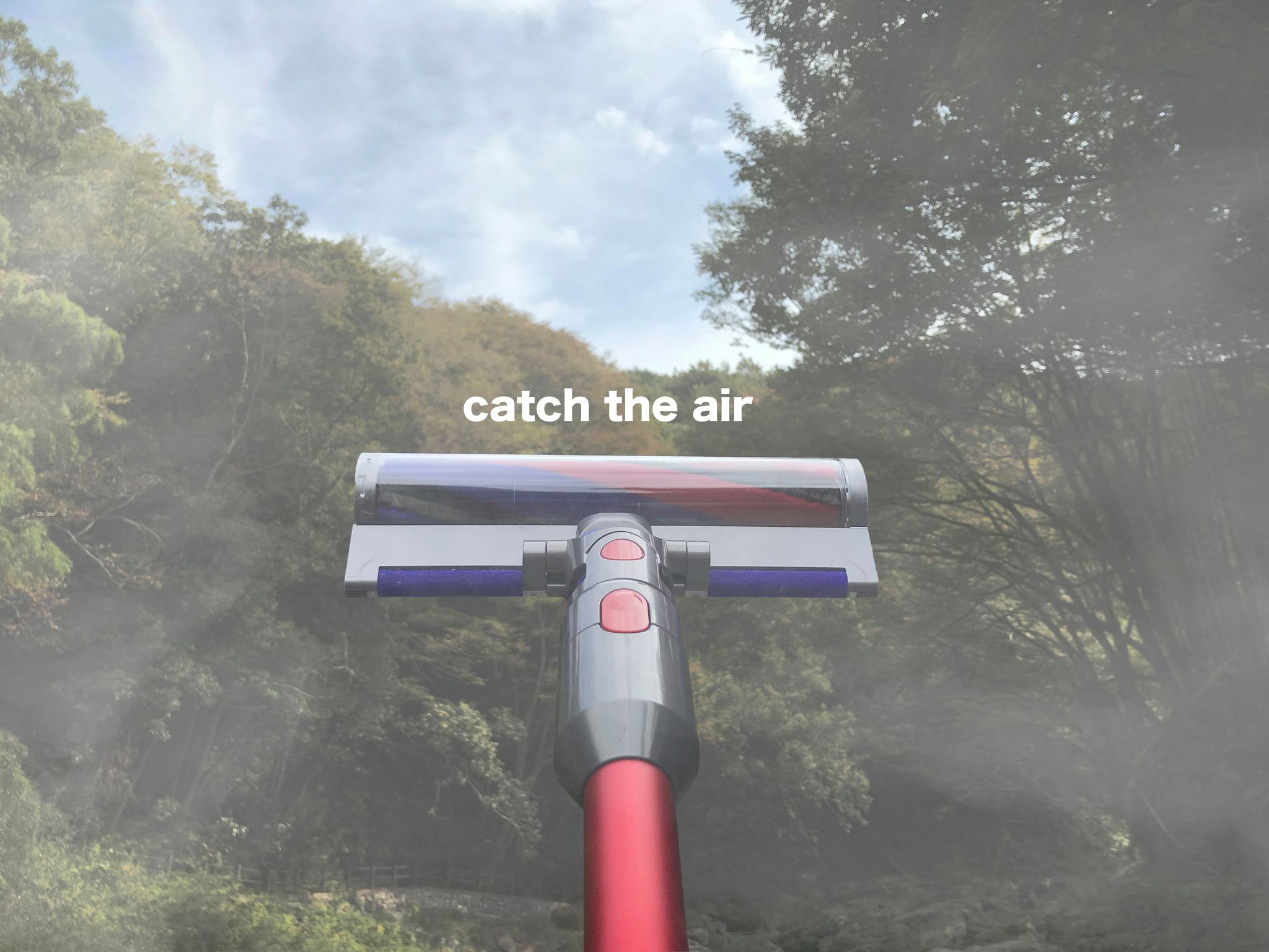 cath the air